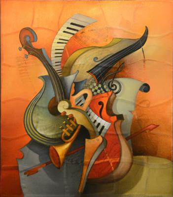 "alt Mosaic–Orchestration ""Melody"""