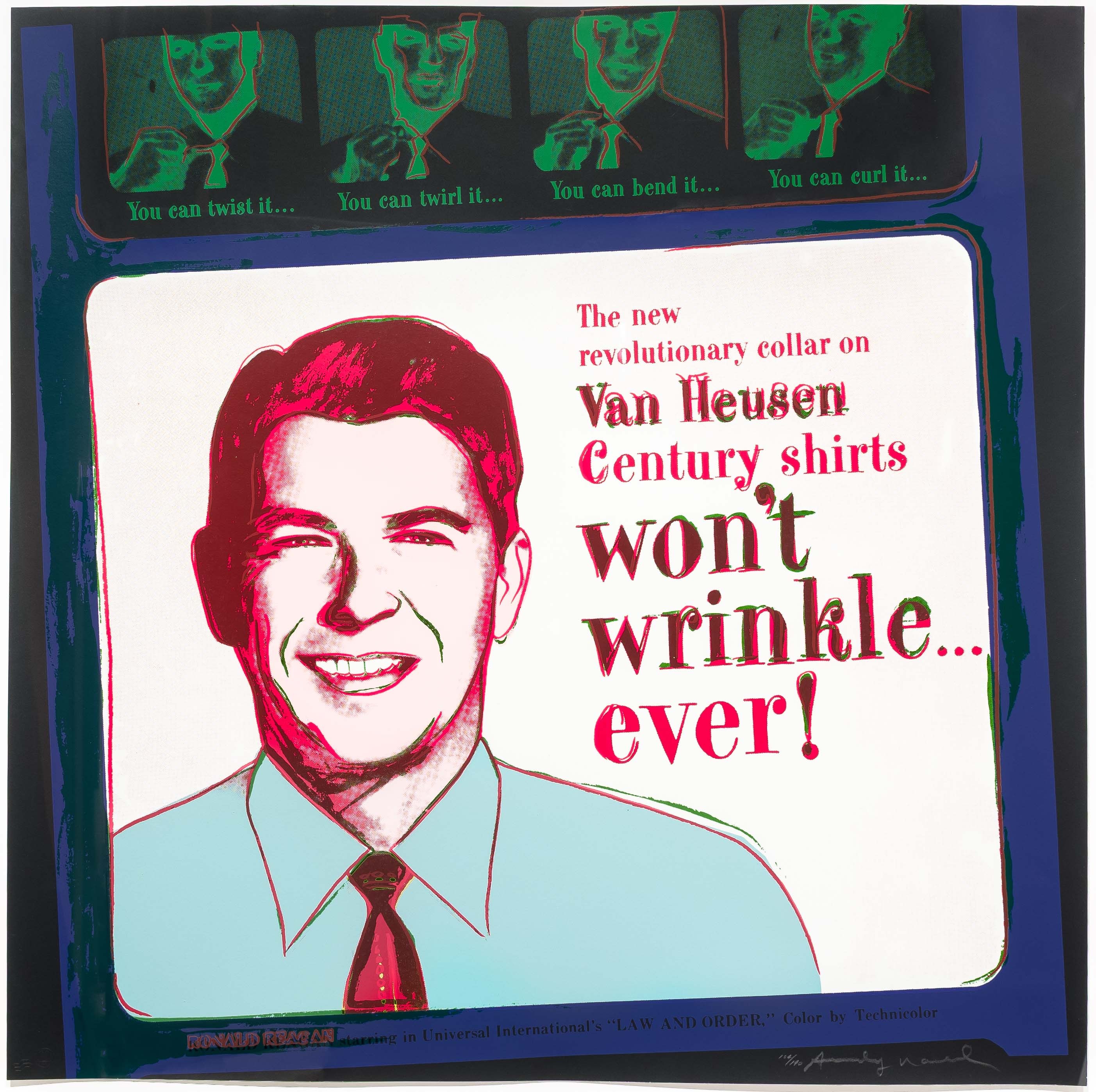 alt Van Heusen (Ronald Reagan), from Ads
