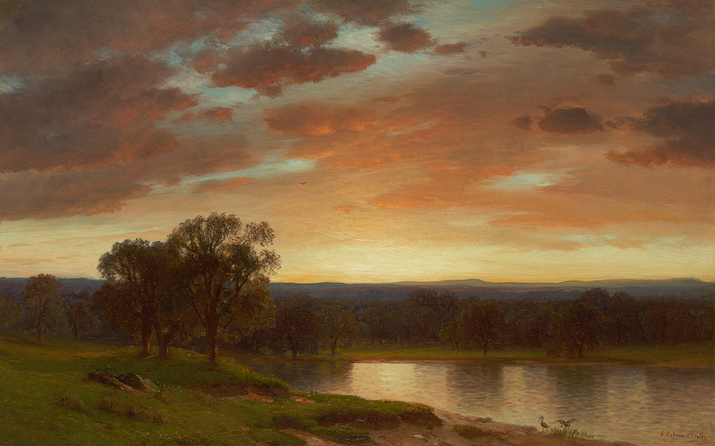 alt Twilight, Valley of the Genesee, 1865