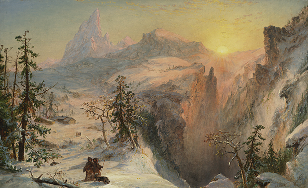 alt Winter, 1860
