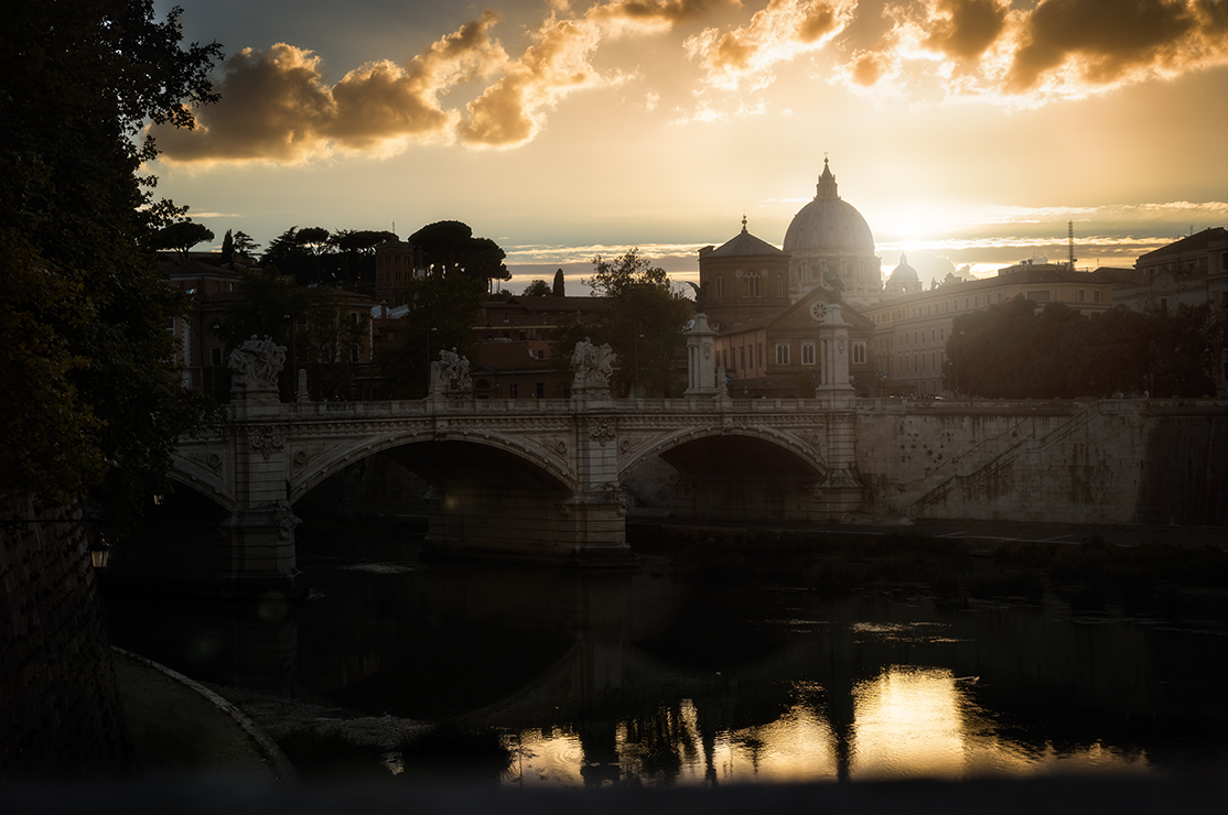 alt Sundown in Rome