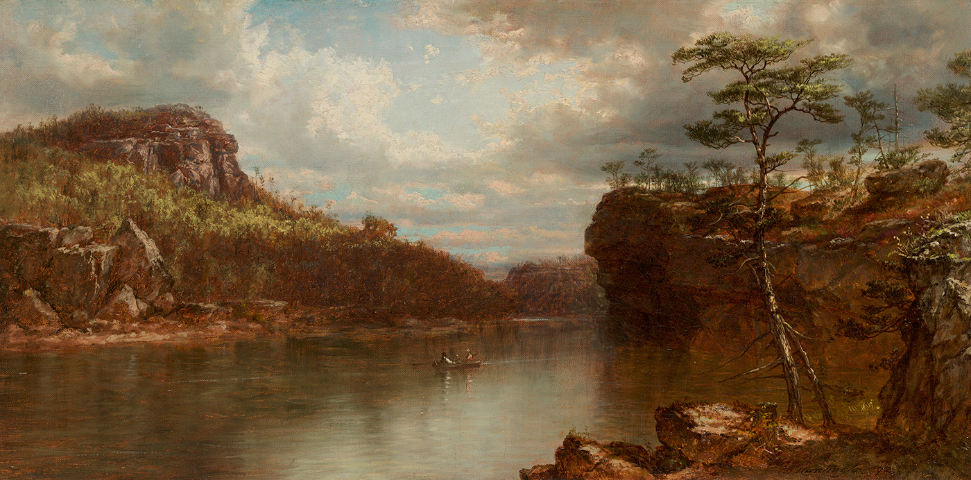 alt Lake Mohonk, 1872