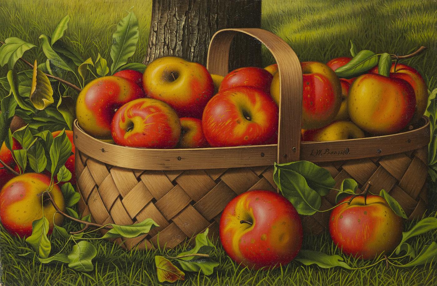 alt Apples in a Basket
