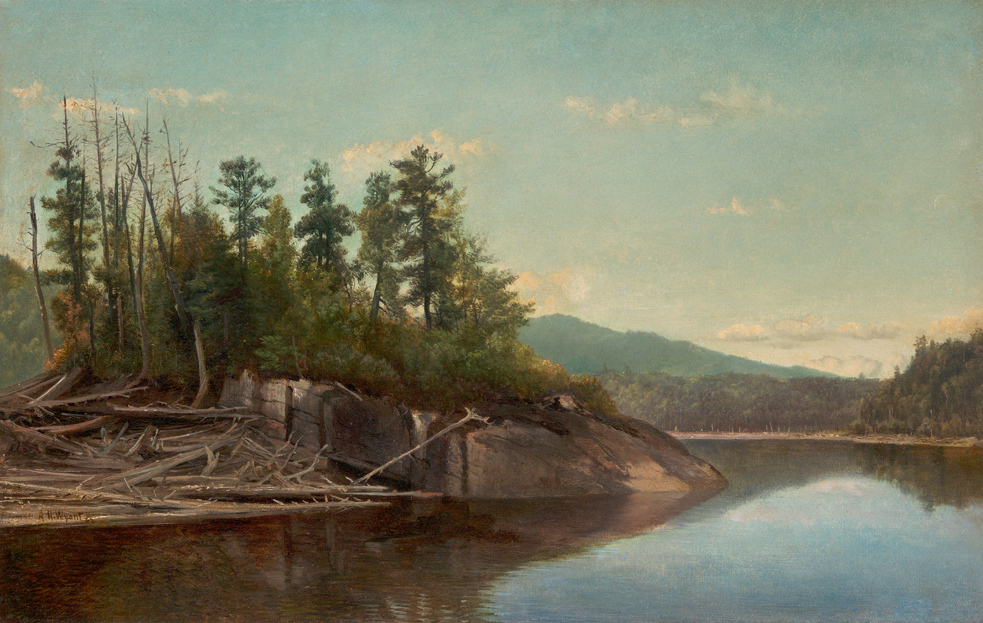 alt Lake Scene, 1867