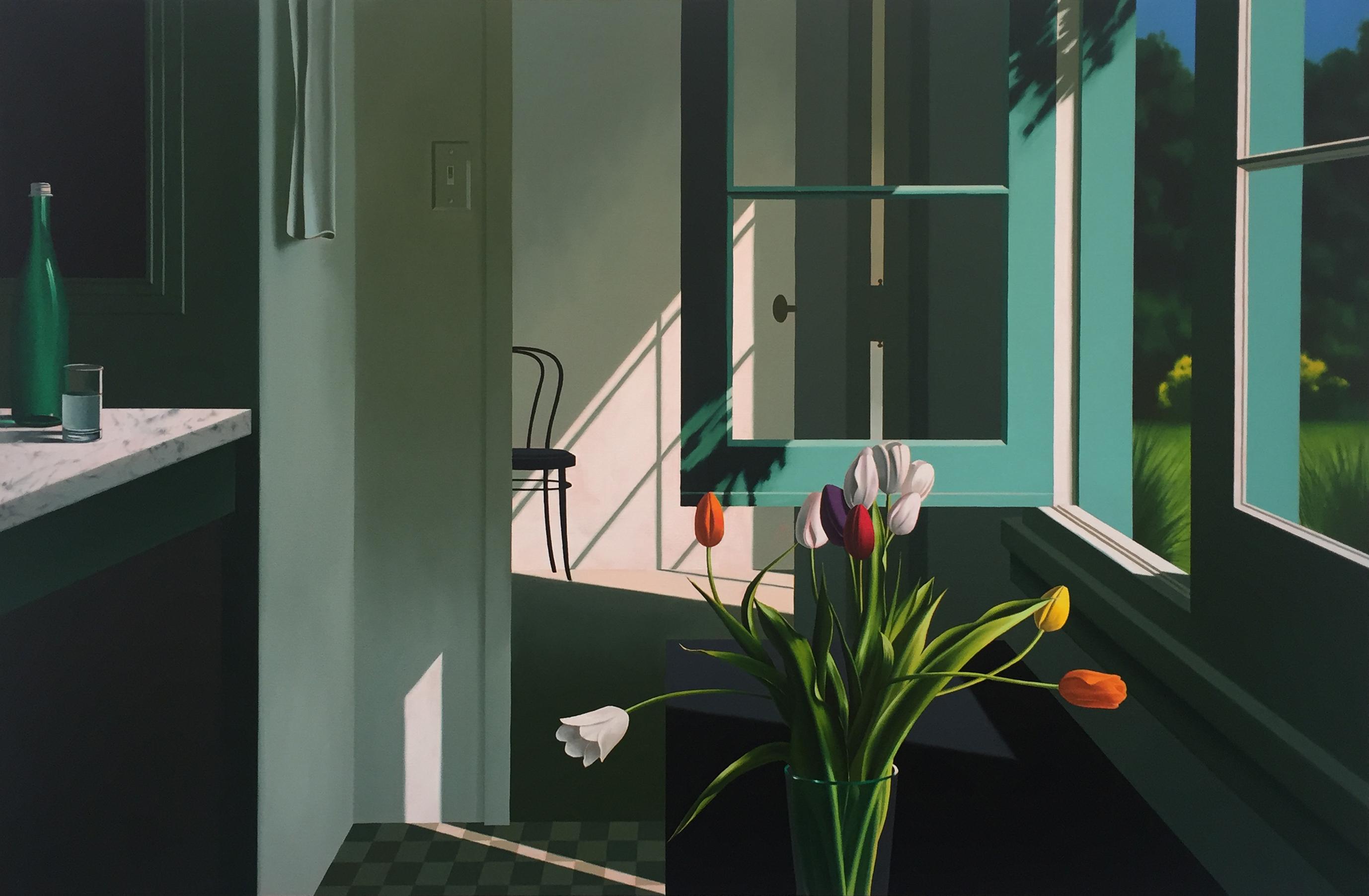 alt Interior with Tulips
