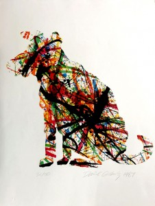 Jackson Pollock's Dog litho 31.50