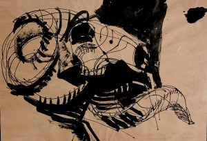Warshaw Ram's Skull 1956