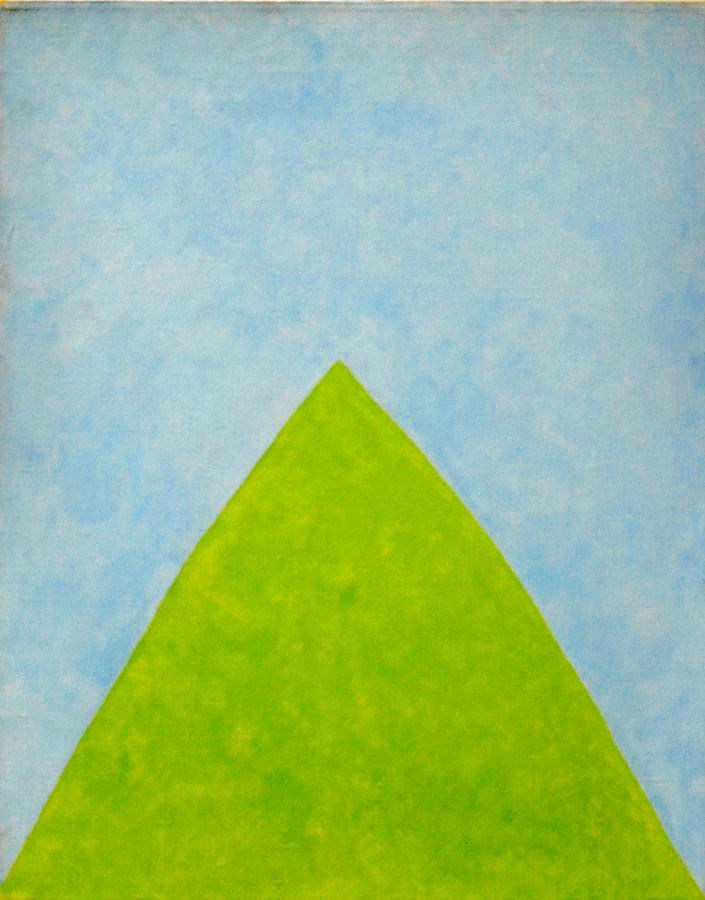 Green & Blue Landscape