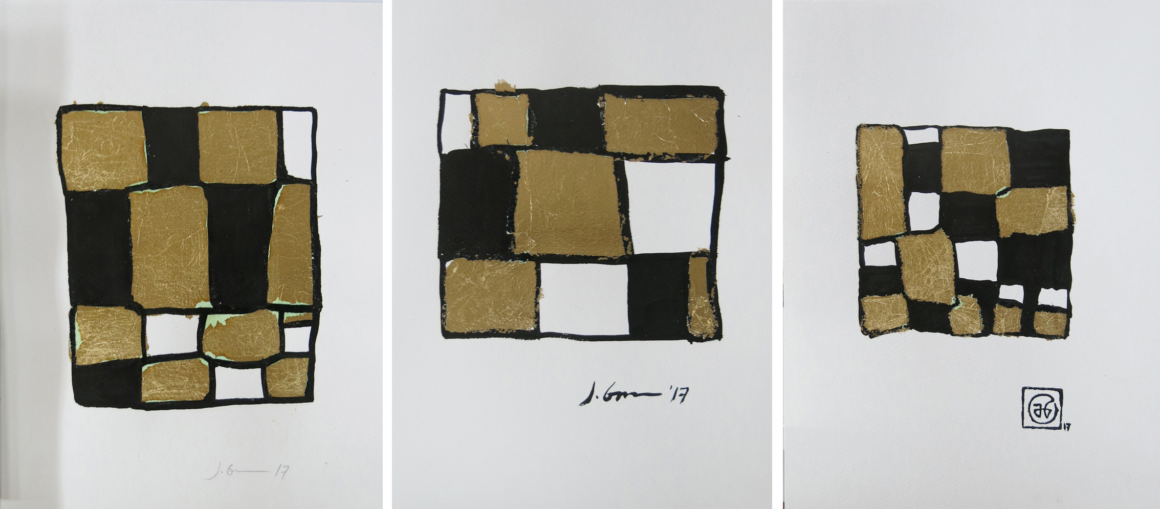 alt Approximate Square Series Nos. 17, 11, 21