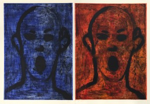 Jim Dine Two Poets Singing Beautifully sm