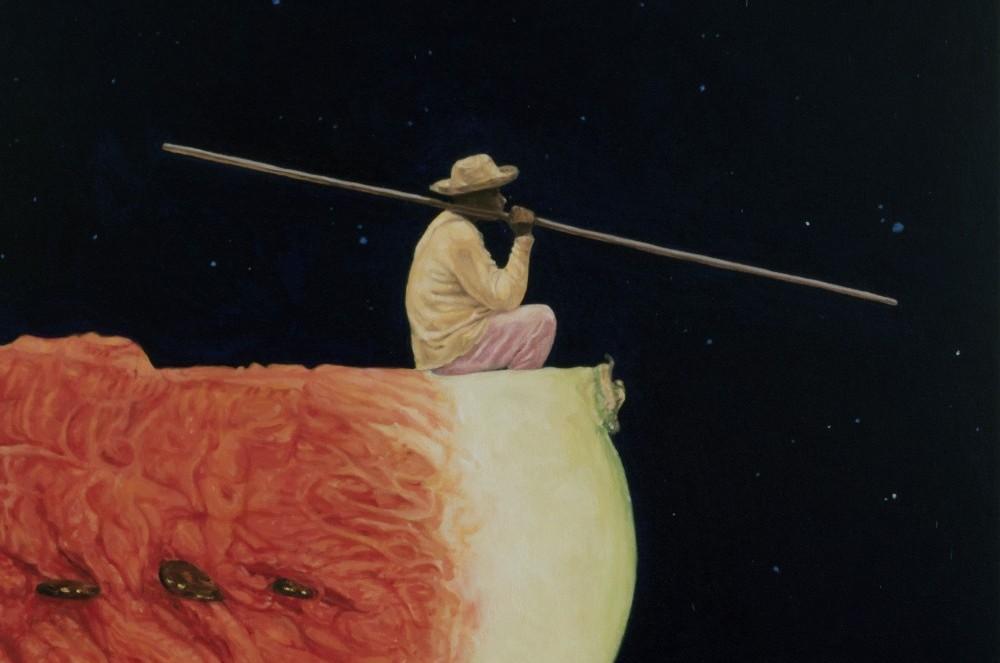 Path to the Stars Series (8), 2017, oleo sobre lienzo, 100 x70 cm
