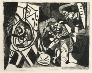 Picasso Scene dinterieur