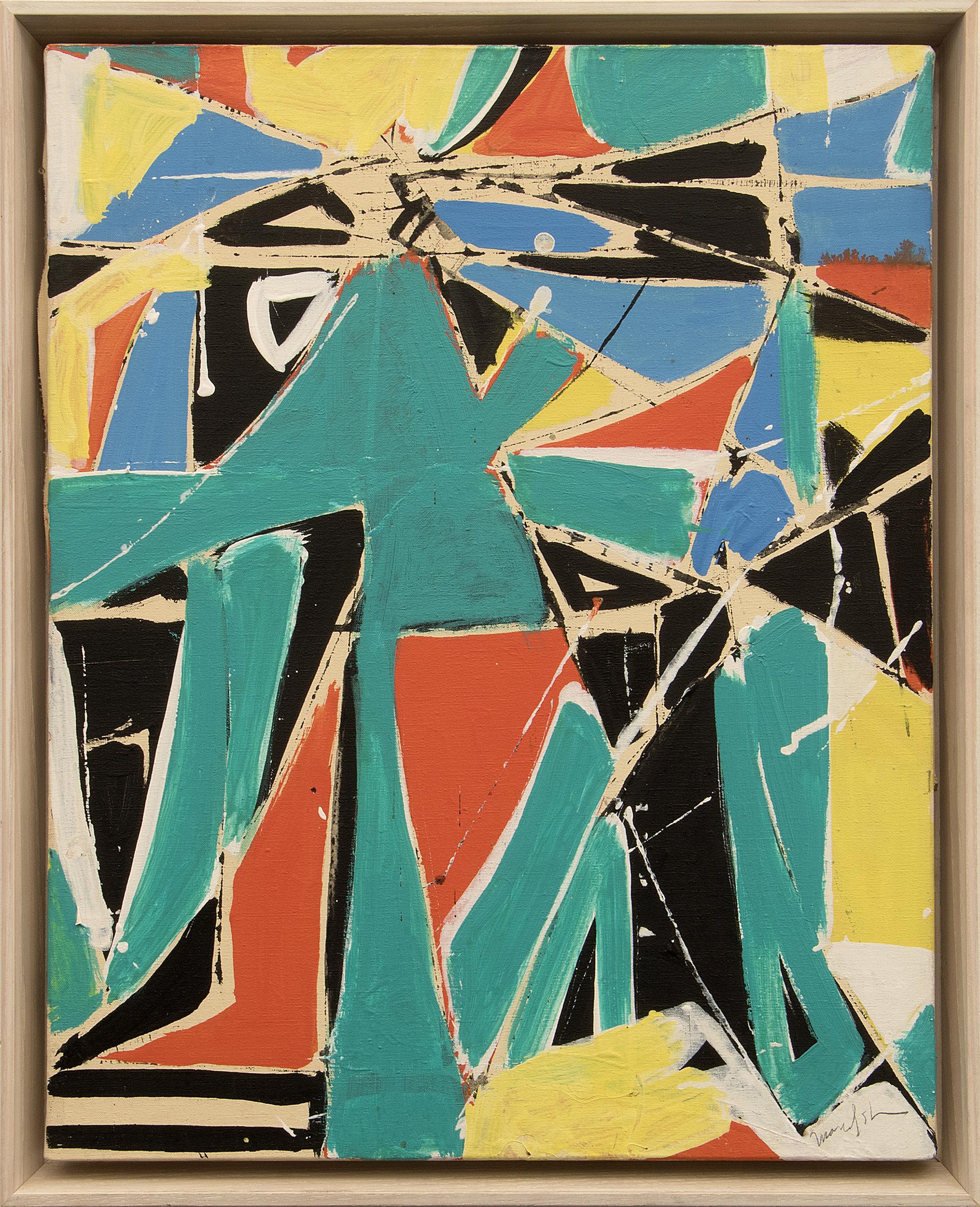 beatrice mandelman abstract painting