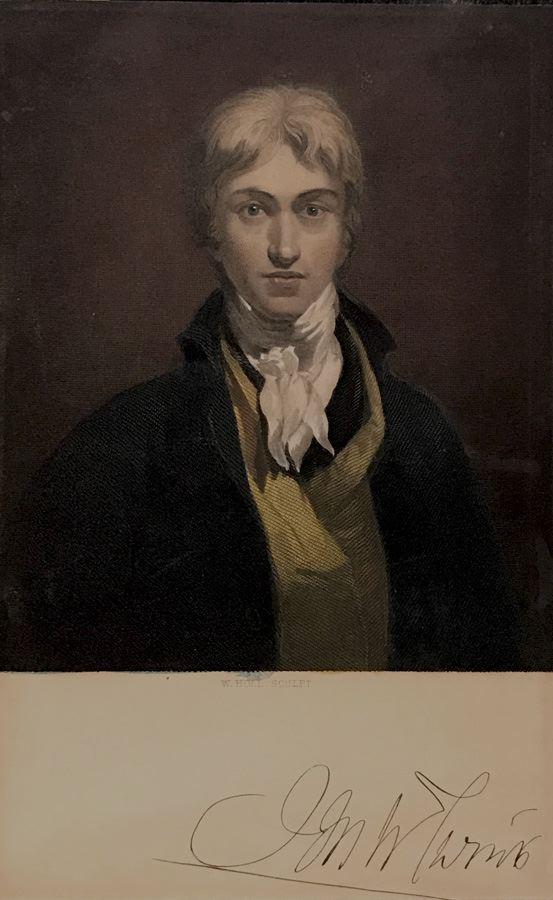 Portrait of J. M. W. Turner