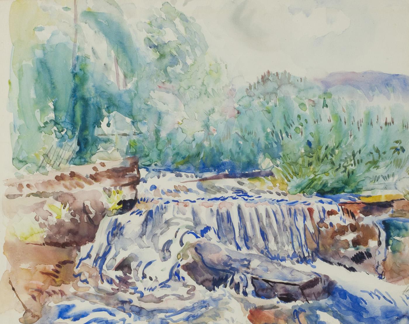 Waterfall, Woodstock, NY