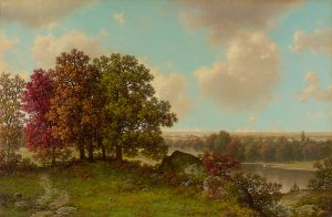 Brown-Autumn Landscape