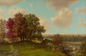 Brown-Autumn Landscape