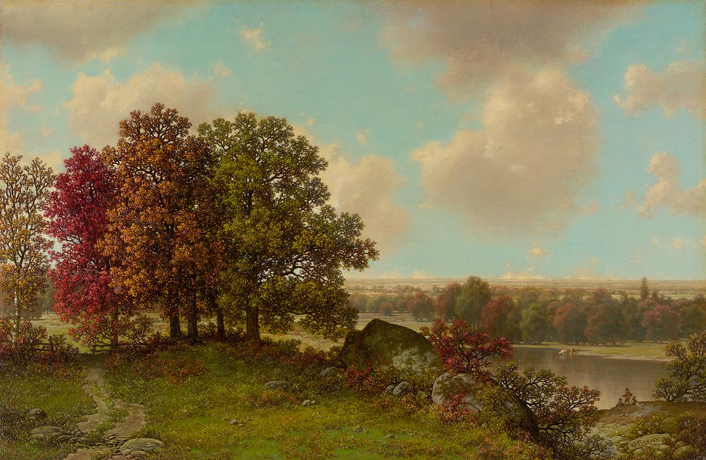 alt Autumn Landscape