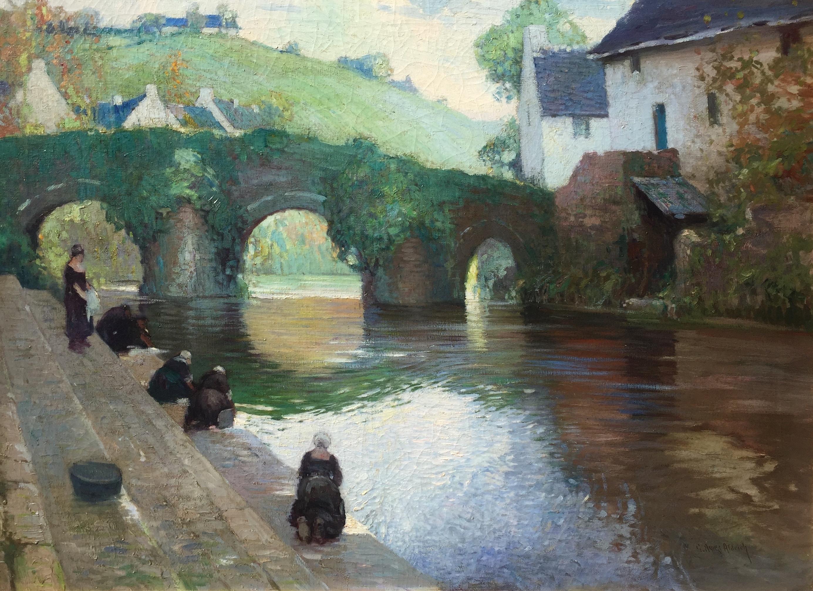 alt Pont Fleuri, Quimperlé