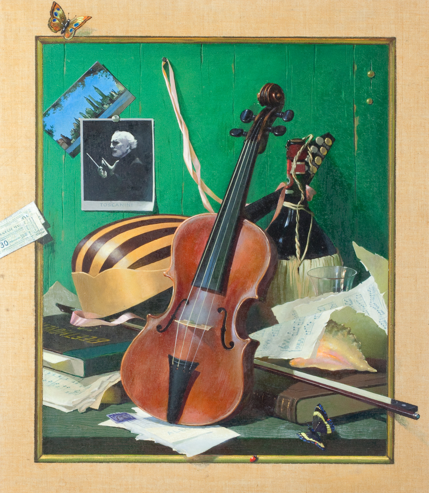 Trompe L'oeil Still Life with Violin