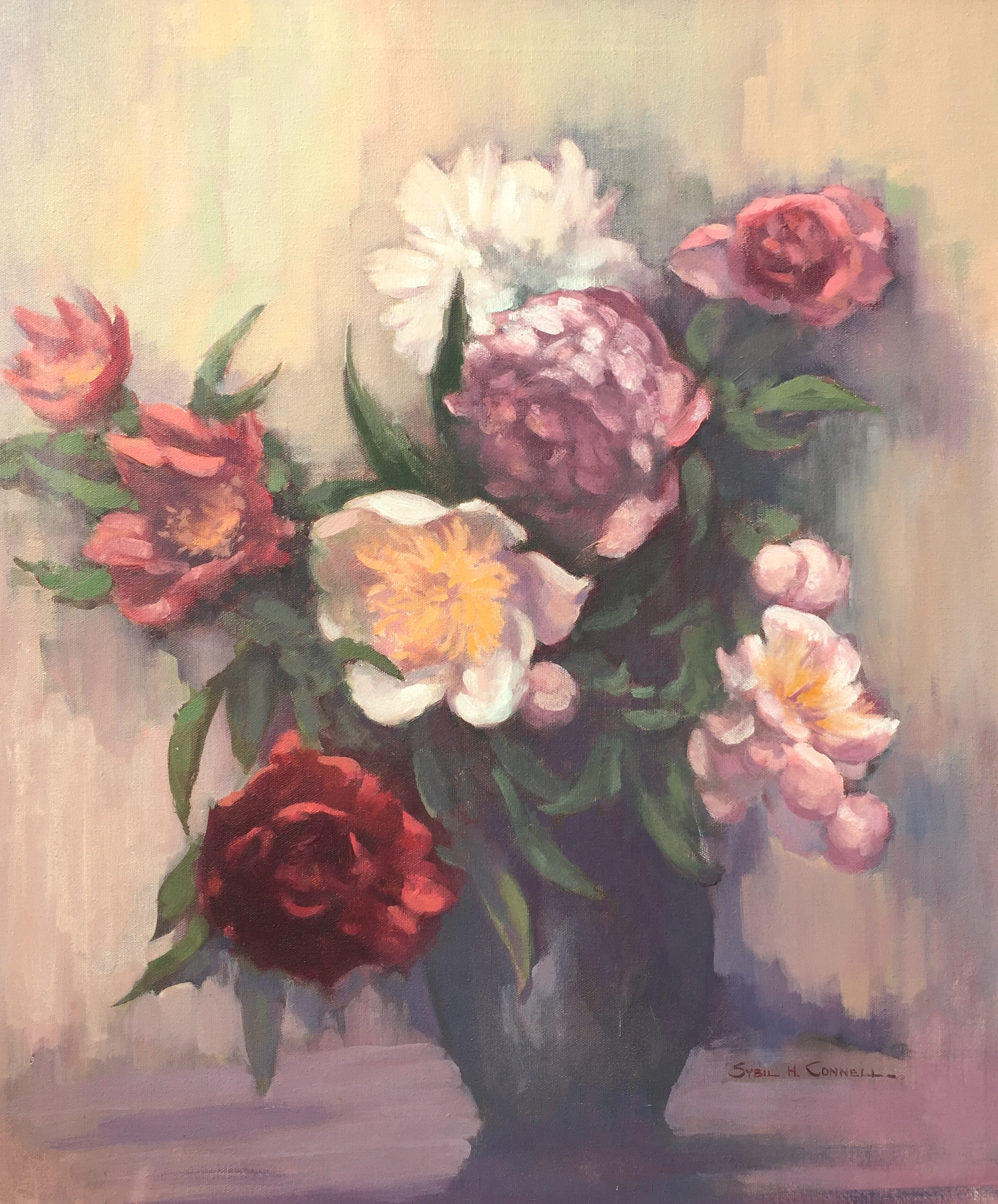 Peonies (Yellow Centers)