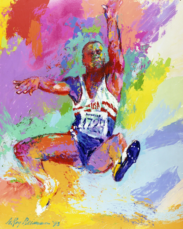 alt Carl Lewis, Barcelona Olympics