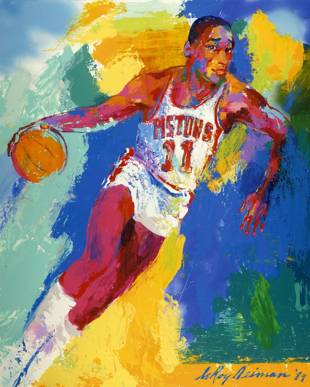 alt Isiah Thomas, Pistons