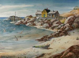 Gasser-Sand, Sea, and Rocks