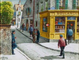 Gasser-Saturday Morning at Montmartre