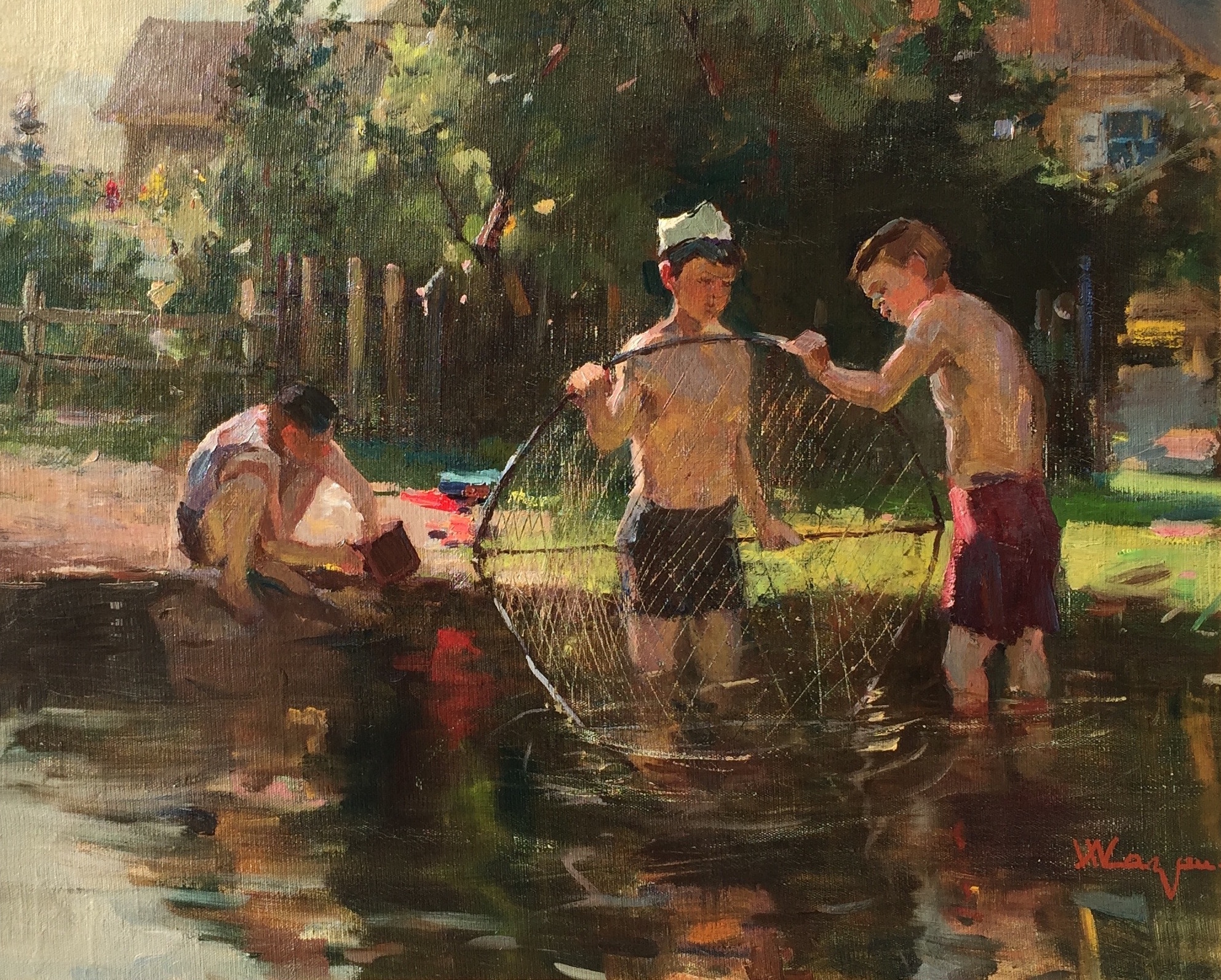 alt Young Fishermen