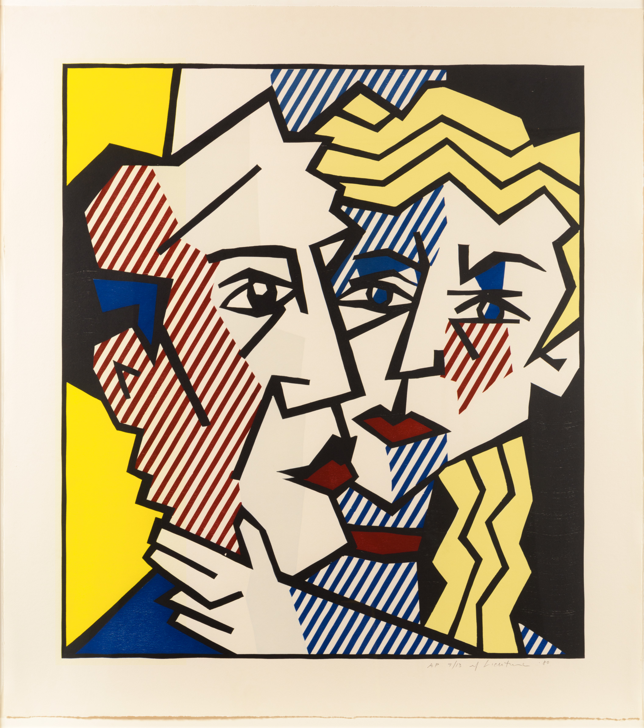 alt The Couple, from the Expressionist Woodcut series