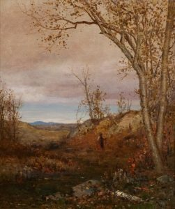 McEntee-Wooded Landscape-in house