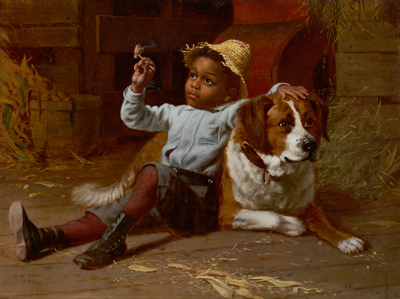His First Smoke, 1891