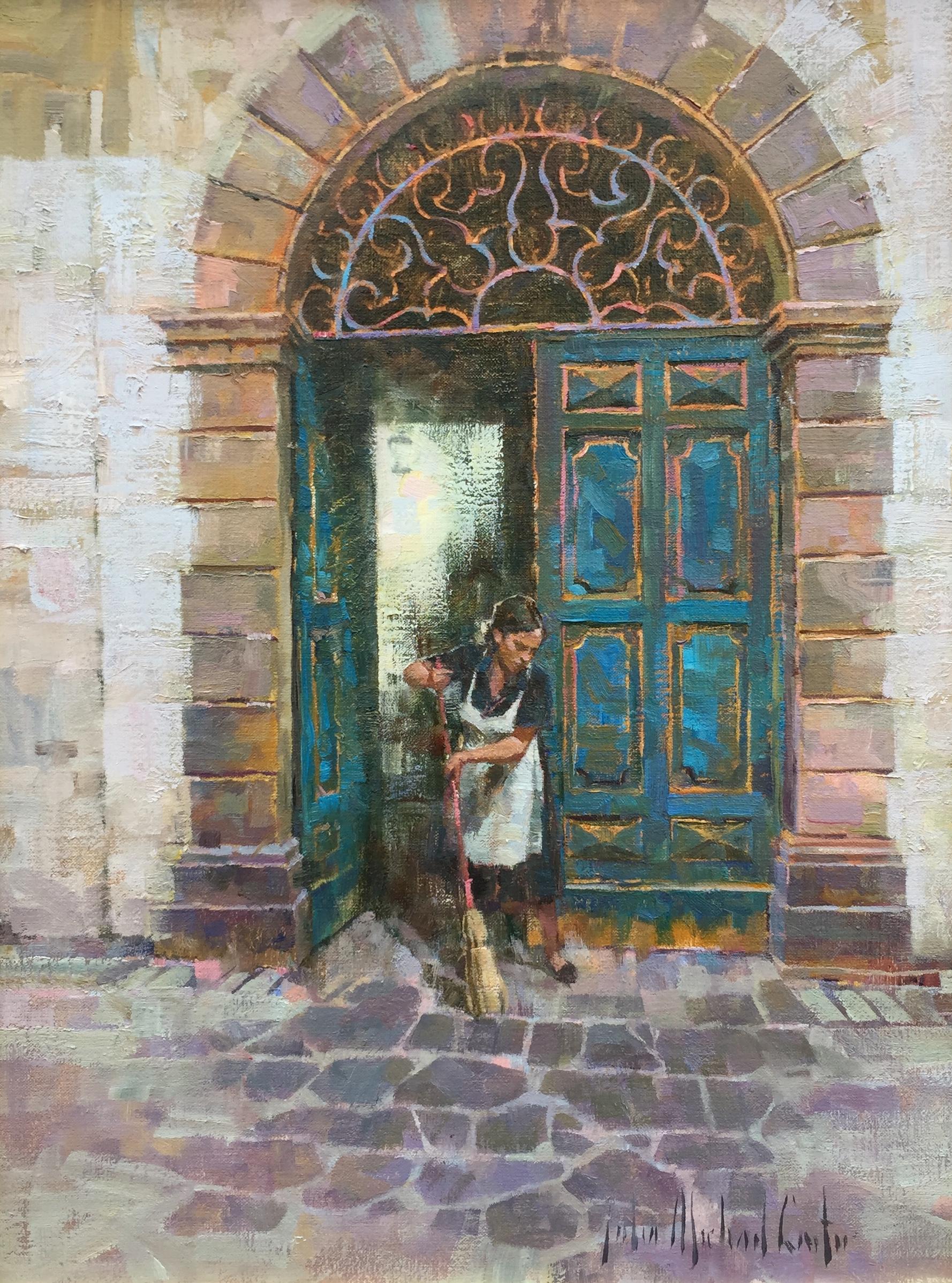 alt Orvieto Doorway