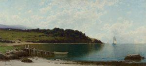 Bricher-Sailboats Along the Coast