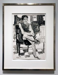 Richard Diebenkorn Seated Woman