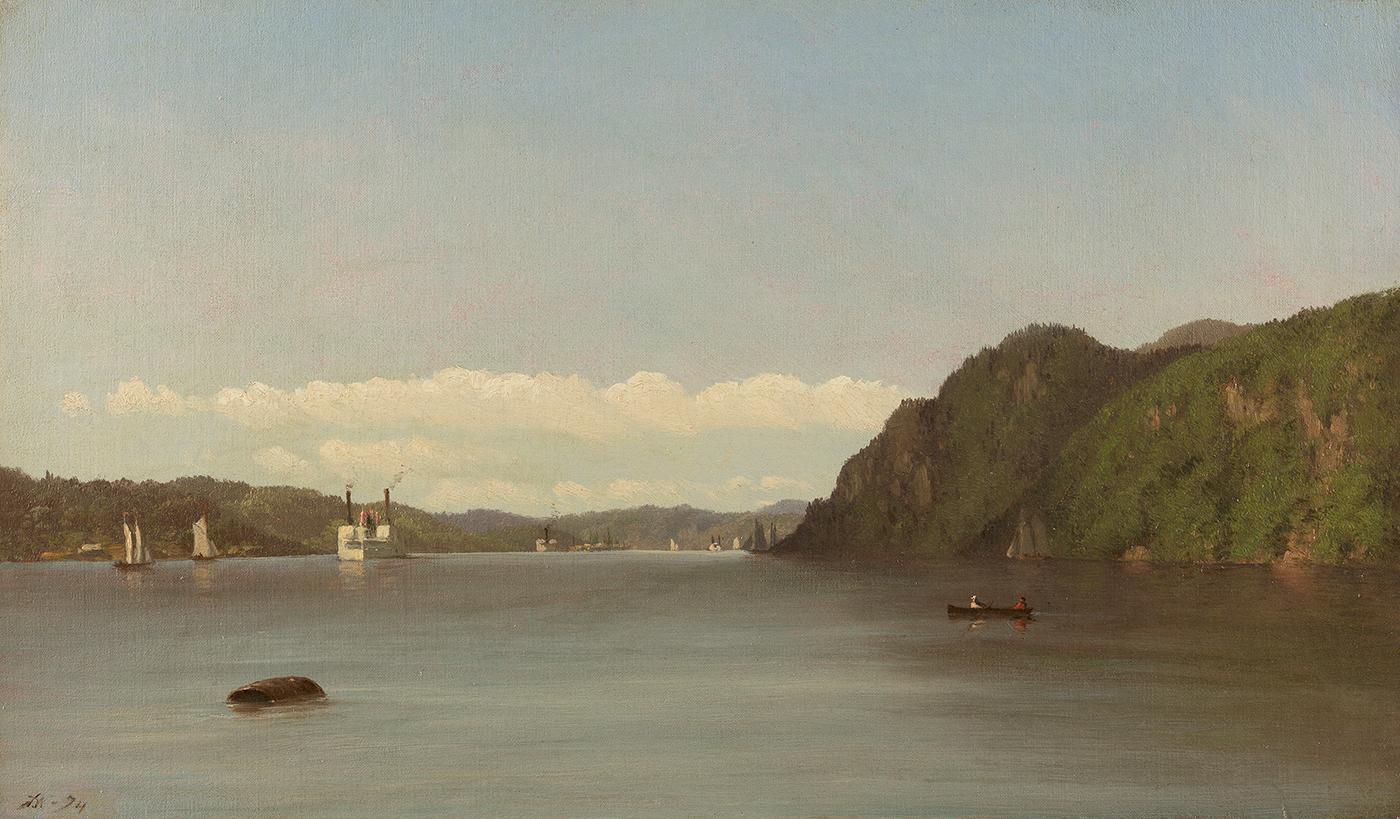 Hudson River Landscape, 1874