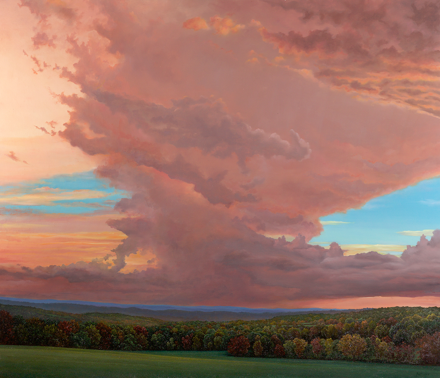 Yost-Storm Approaching Painter Ridge, 2016