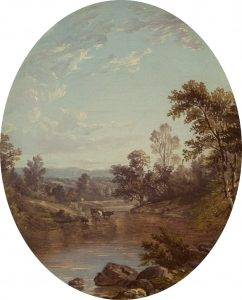 Casilear-View into the Catskills, 1850