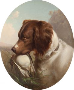 Hill, T-Hunting Dog, 1865-UF