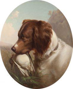 Hill, T-Hunting Dog, 1865-UF
