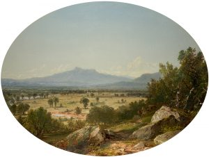 Kensett-Landscape, Mount Chocorua from Conway, 1854