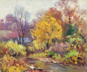 Vawter-The Creek in Autumn-cropped