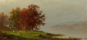 Bricher-Along the River