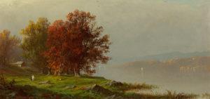 Bricher-Along the River