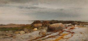 Hart-Rocky Seascape-in house