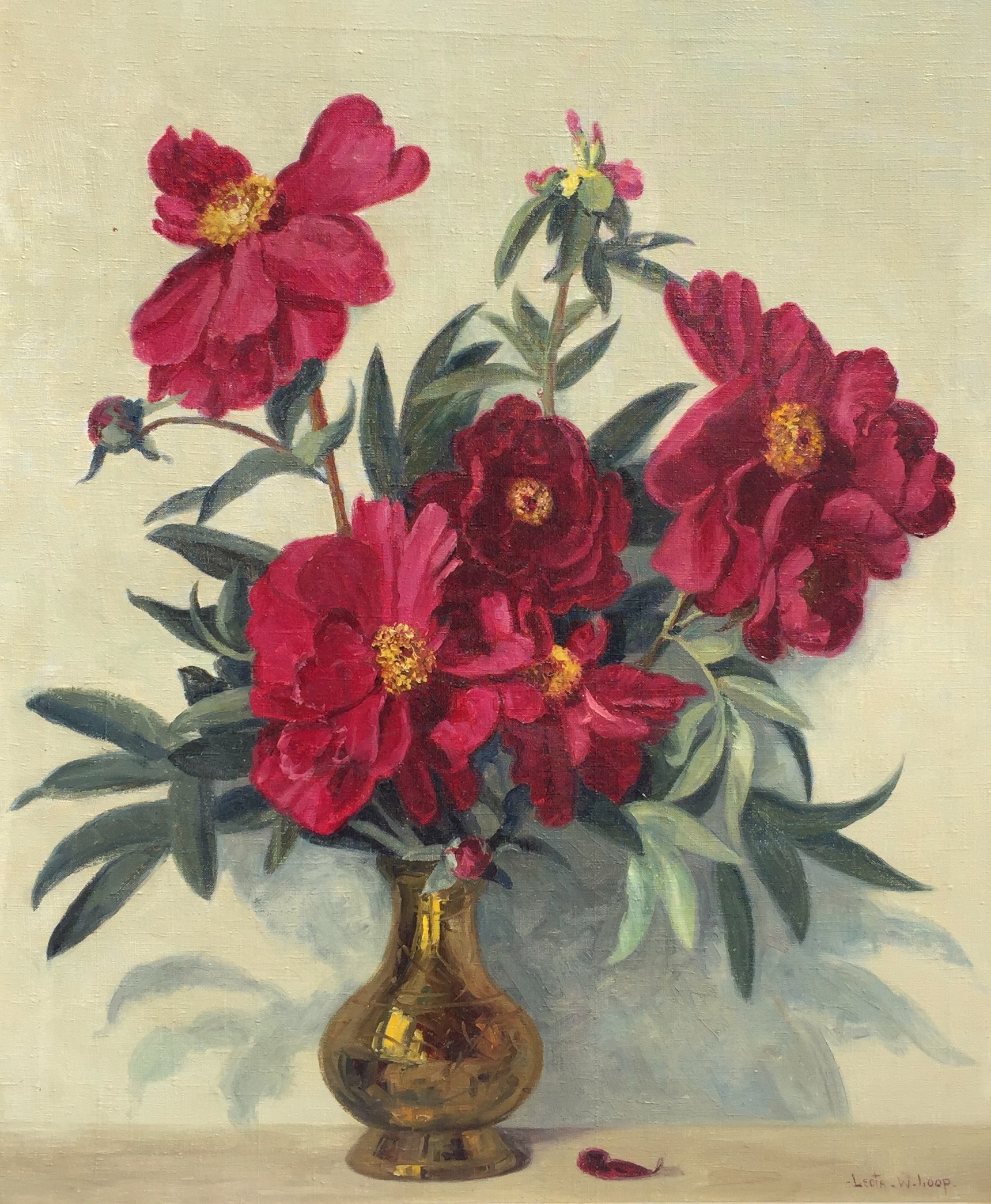 alt Red Peonies