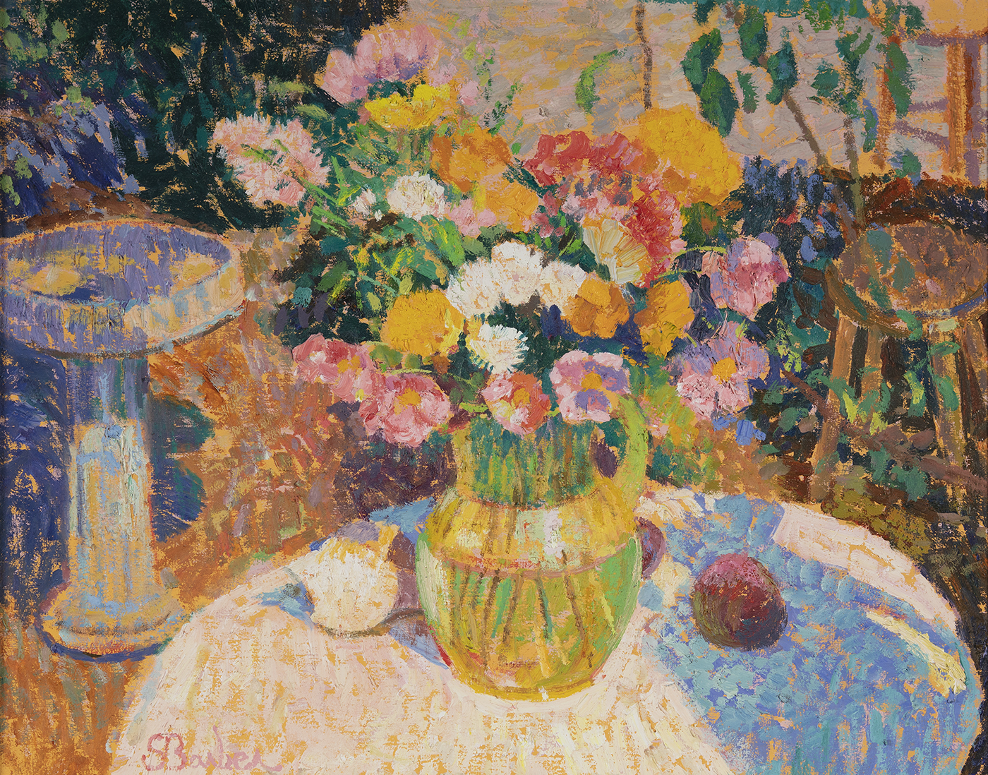 In the Sunlight, Artist's Garden
