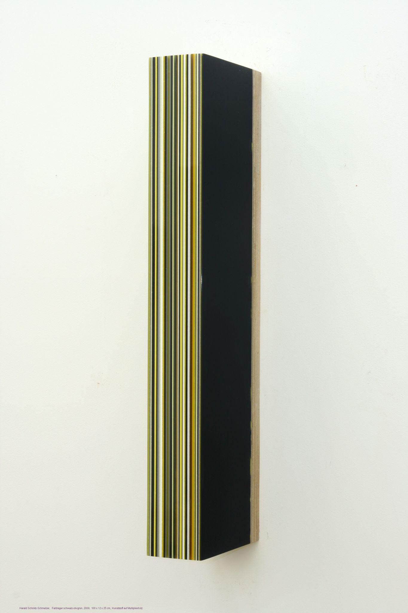 Farblager schwarz-oliv_ 2009