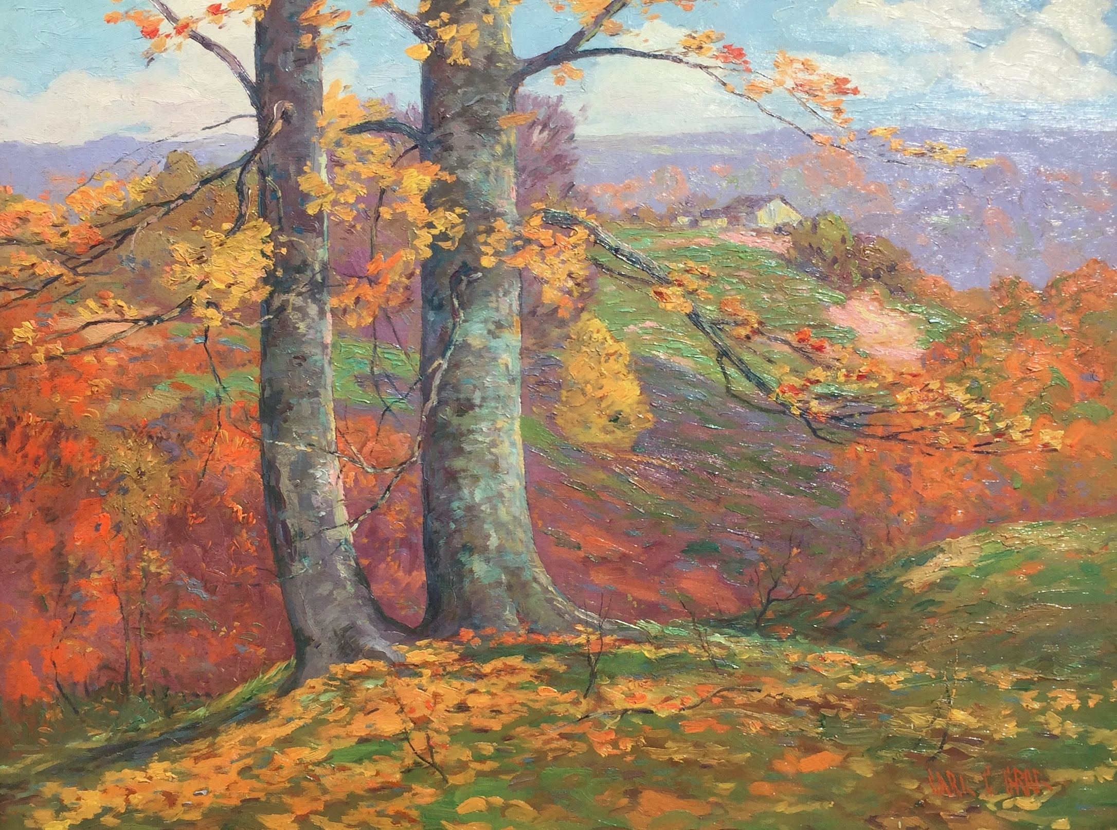 Autumn Hillside, Brown County